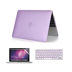 """3 i en krystallklar myk veske med tastatur deksel og skjermbeskytter for MacBook Pro 13 """"/ 15 '' med retina"""