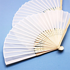 cheap Fans & Parasols-Party / Evening / Causal Material Wedding Decorations Beach Theme / Garden Theme / Asian Theme / Floral Theme / Butterfly Theme / Holiday