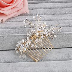 Χαμηλού Κόστους -μαργαριτάρι μαλλιά χτένες κερί κομμάτι γάμου κομψό θηλυκό στυλ