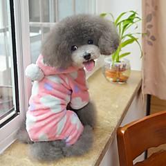 9006c9f890 Cat Dog Hoodie Jumpsuit Pajamas Dog Clothes Polka Dot Black Pink Polar  Fleece Costume For Husky Labrador Golden Retriever Spring   Fall Winter  Men s Women s ...