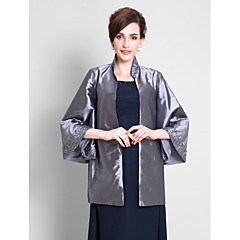 cheap Party Accessories-Taffeta Wedding Wedding  Wraps Coats / Jackets