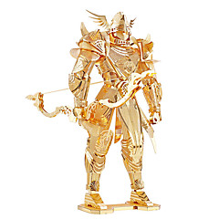 cheap -3D Puzzles Metal Puzzles Model Building Kit Warrior Metal 8 to 13 Years