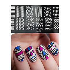 Nail Art Damgalama Plaka Stamper Kazıyıcı 12*6