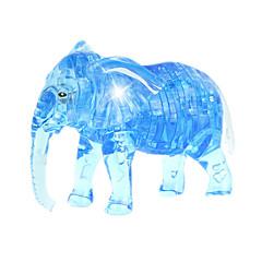 ブロックおもちゃ ジグソーパズル クリスタルパズル おもちゃ 象 ノベルティ柄 41 小品