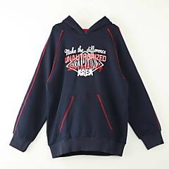 billige Hættetrøjer og sweatshirts til drenge-Børn Drenge I-byen-tøj Trykt mønster Langærmet Hættetrøje og sweatshirt
