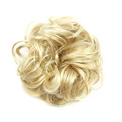 billiga Peruker och hårförlängning-Syntetiska peruker / Chinjonger Lockigt / Klassisk Frisyr i lager Syntetiskt hår updo Peruk Dam Korta Cosplay Peruk Maskingjord Dagligen