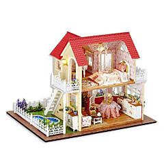 billiga Leksaker och spel-chi fun house diy hydda koja prinsessa handen monterad modell hus kreativa gåvor för att skicka flickor dag gåva