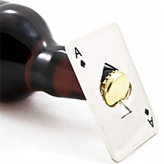 cheap Barware-New Stylish Hot Sale 1pc Poker Playing Card Ace of Spades Bar Tool Soda Beer Bottle Cap Opener Gift