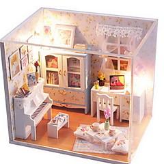 Hrajeme si na... Sada na domácí tvoření Hračky Udělej si sám Slavné stavby Dům Architektura Dřevo Pieces Dívčí Valentýna Dárek