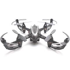billige Fjernstyrte quadcoptere og multirotorer-RC Drone YiZHAN I4S 4 Kanaler 6 Akse 2.4G Med HD-kamera 720P Fjernstyrt quadkopter LED Lys / En Tast For Retur / Hodeløs Modus / Sveve