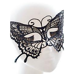 Sey tyyli musta / valkoinen pitsi naamio halloween koristeluun masker naamiaiset
