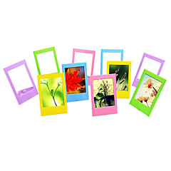 3 Inch Table Photo Frames/ Mini Frames for Fujifilm Instax mini 8/ 7s/ 90/ 25/ 50s/ 70 Film, 10 Pack