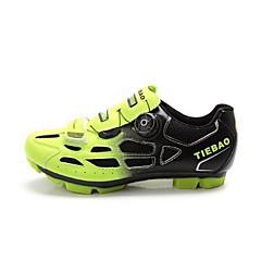 Tiebao joggesko Mountain Bike-sko Sykkelsko Herre Anti-Skli Demping Ventilasjon Innvirkning Slitasje-sikker Vanntett PustendeUtendørs