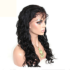 cheap Wigs & Hair Pieces-Human Hair Unprocessed Human Hair Glueless Full Lace Full Lace Wig Brazilian Hair Body Wave Loose Wave Wig 120% Density with Baby Hair Natural Hairline African American Wig 100% Hand Tied Women's