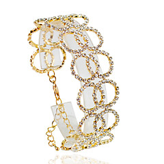 cheap Bracelets-Women's Chain Bracelet - Fashion Bracelet Silver / Golden For Wedding / Party / Daily / Casual