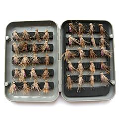 billiga Fiskbeten och flugor-40 pcs Fiskbete Flugor Plast / Kolstål Sjöfiske / Flugfiske / Generellt fiske