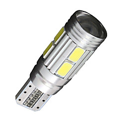 4x Canbus Wedge T10 White 192 168 194 W5W 10 5630 SMD LED Light Lamp Bulb Error Free 12V