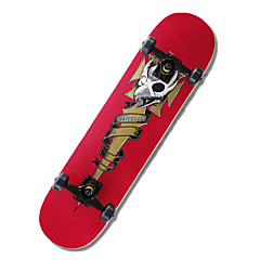 Standard Skateboards Professional Red Green