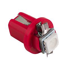 10pcs hry® B8 5D 5050 הוביל 1 SMD 12v T5 אור מנורת מכונת מד ספידו מקף הנורה לוח מחוונים המכשיר