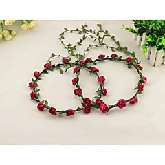 cheap Party Headpieces-Fabric Wreaths Headpiece Wedding Party Elegant Classical Feminine Style