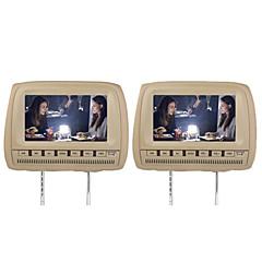 """billiga DVD-spelare till bilen-9 """"bil huvudstöd dvd spelare support fm sändare trådlöst spel (1 par)"""