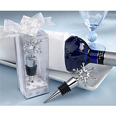 Sarjat Kromi Bottle Favor-1Piece/Set Bottle Stoppers / Bottle Openers / CharmsHiekkaranta-teema / Puutarha-teema / Vegas-teema /