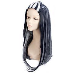 billiga Peruker och hårförlängning-Syntetiska peruker / Kostymperuker Rak Syntetiskt hår Ombre-hår Peruk Dam Mellan / Lång Kostym Peruk