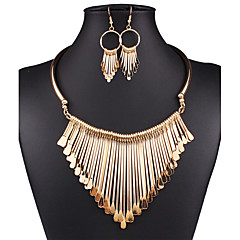 Women's Jewelry Set Drop Earrings Statement Necklaces Bib necklaces Vintage Sexy Fashion European Statement Jewelry Wedding Party Daily
