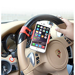 Automobile Steering Wheel Holder / Mobile Phone Support / Adjustable Width / Portable Clip / Vehicle Interior