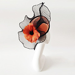cheap Party Headpieces-Flax Fascinators 1 Wedding Special Occasion Headpiece