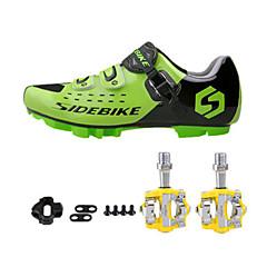 billige Sykkelsko-Sykkelsko med pedal og tåjern joggesko Unisex Demping Vei Sykkel utendørs