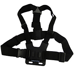 Chest Harness Adjustable For Action Camera SJ4000 Gopro 5/4/3/3+/2/1 Universal Aluminium Alloy