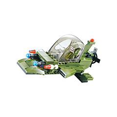 billiga Leksaker och spel-WOMA Byggklossar 208pcs Militär / Jaktplan / Häst Originella Pojkar Present