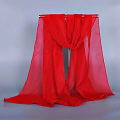 Damskie Vintage Urocza Sukienka prosta Prostokątne - Szyfon, Jendolity kolor