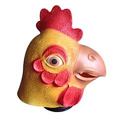 Halloween-Masken Tiermaske Spielzeuge Hühnchen Horror-Theme 1 Stücke Halloween Maskerade Geschenk