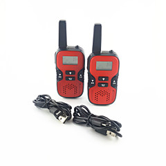 billige Walkie-talkies-365 365 k-2 Håndholdt Programmeringskabel / VOX / Kryptering <1,5 km <1,5 km Walkie Talkie Toveis radio