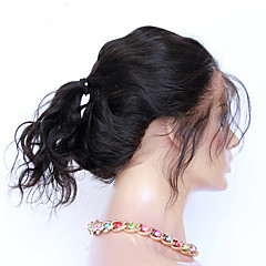 cheap Wigs & Hair Pieces-CARA Indian Hair 360 Frontal Body Wave / Classic Free Part / Middle Part / 3 Part French Lace Human Hair Daily