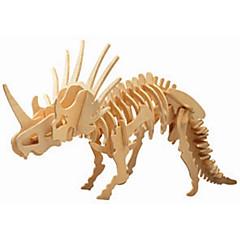 tanie Gry i puzzle-Drewniane puzzle Dinozaur profesjonalnym poziomie Drewniany Boże Narodzenie Karnawał Dzień Dziecka Dla dziewczynek Dla chłopców Prezent