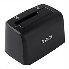 Orico 6519 início de 2,5 polegadas 3,5 polegadas base de disco rígido disco rígido comum com uma cor aleatória caixa de disco rígido móvel