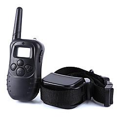 coaja Guler Lese Antrenament Câini anti-Scoarță 300M Telecomandă Electronic/Electric LCD Vibrație Mată