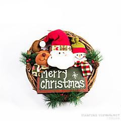 ホリデー・デコレーション クリスマスデコレーション クリスマス花輪 おもちゃ サンタスーツ 雪だるま 男の子 女の子 小品