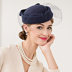 Wool Net Fascinators Hats Headpiece
