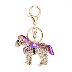 tanie Łańcuszki do kluczy-Łańcuszek do kluczy Biżuteria Purple Fuchsia Niebieski Stop Zwierzęta euroamerykańskiej Godny podziwu Dla obu płci