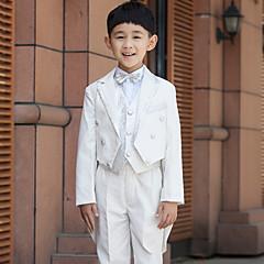 Serge Costum Cavaler Inele - 6 Bucăți Include Jachetă Cămașă Vestă Pantaloni Brâu Papion