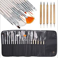 15pcs unghii perie de design pictura desen stilou set cu 5buc puncționare marbleizing instrument pen