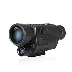 cheap Hunting & Nature-5X40 Monocular Portable Zoom Multifunction Night Vision Camping / Hiking Hunting