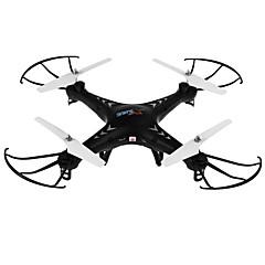 billige Fjernstyrte quadcoptere og multirotorer-RC Drone SJ  R/C X300-1C 4 Kanaler 6 Akse 2.4G Med HD-kamera 2.0MP 200W Fjernstyrt quadkopter En Tast For Retur Hodeløs Modus Flyvning