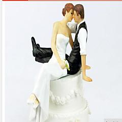 prachtige cake topper hars met geschenkdoos elegante huwelijksreceptie