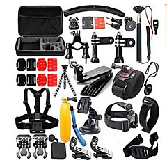Accessory Kit For Gopro 30 in 1 Convenient For Action Camera Gopro 6 Gopro 5 Gopro 4 Session Gopro 4 Black Gopro 4 Gopro 4 Silver Gopro 3