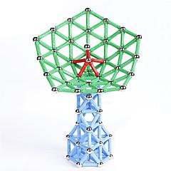 Magnetisches Spielzeug Magnetsticks Magnetspielsachen Bausteine Magnetische Bau-Sets 47 Stücke Spielzeuge Metal Magnetisch Neuartige